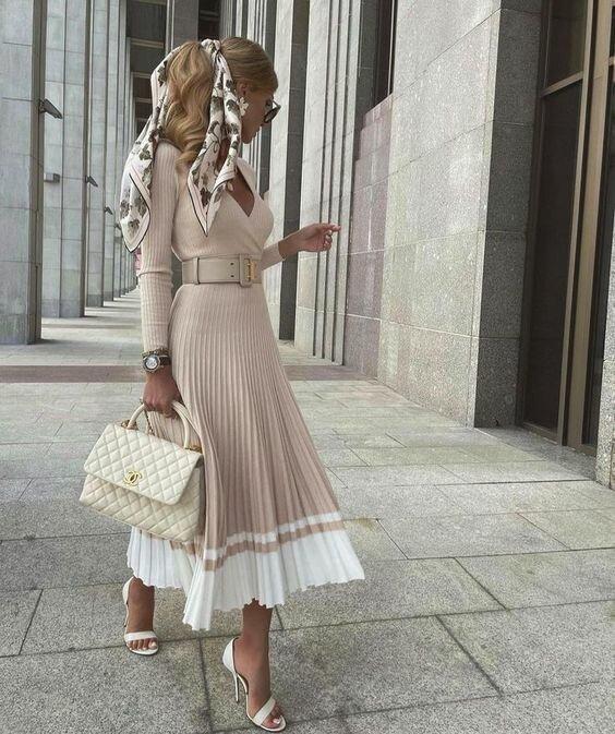 Женственные платья – модный внесезонный тренд: 8 базовых моделей осень-зима 21/22