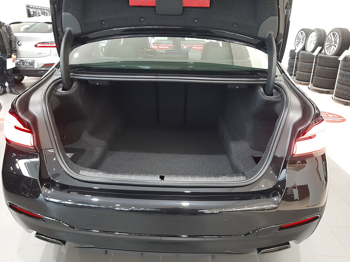 BMW5 G30 багажник