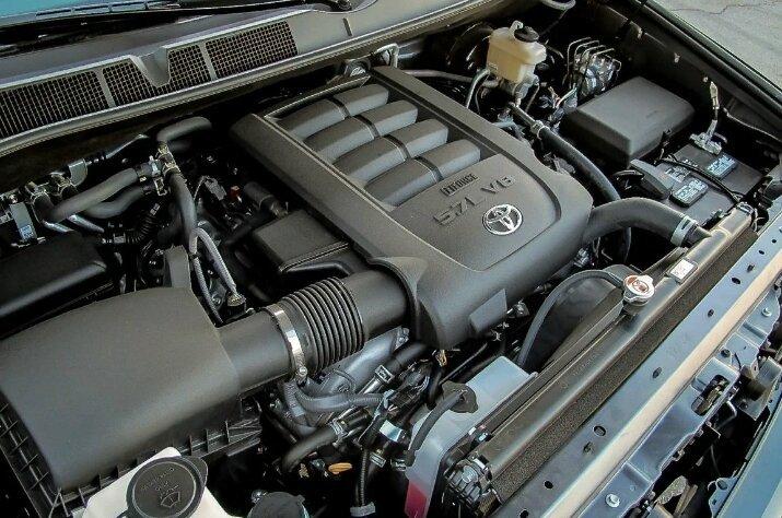 Тойота Секвойа мотор 2018, фото с сайта sharperedgeengines.com