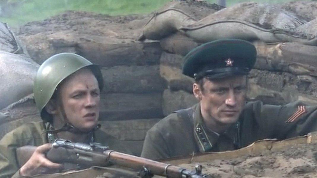"""Пограничники 22 июня 1941 года. Кадр из телевизионного сериала """"Застава Жилина"""""""