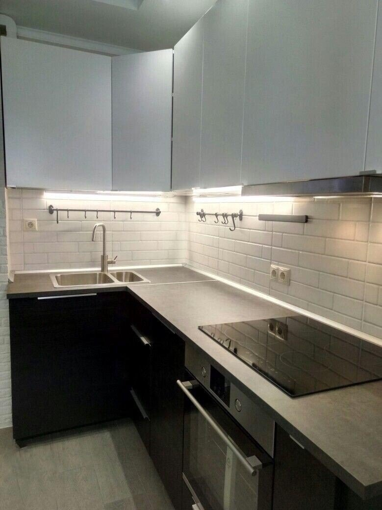 Кухня ПОСЛЕ ремонта. Фото 1